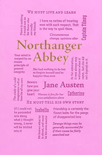 Northanger Abbey (Word Cloud Classics) from KLO80
