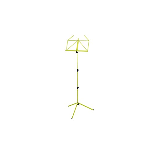 Konig and Meyer 10010-000-31 625 - 1240 mm Adjustable Music Stand - Yellow Green from Konig & Meyer