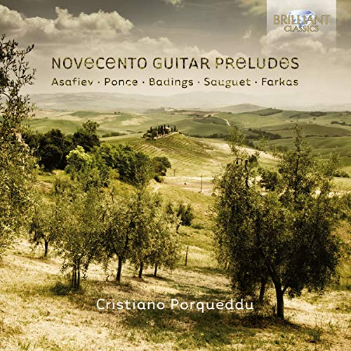 Novecento Guitar Preludes from BRILLIANT CLASSICS