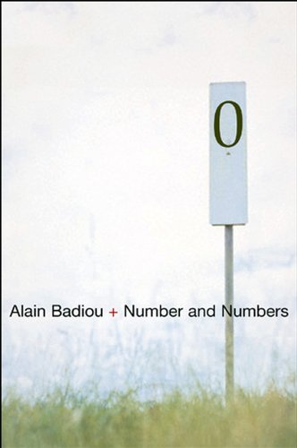 Number and Numbers from Polity Press
