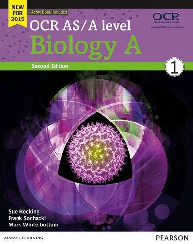 OCR AS/A level Biology A Student Book 1 + ActiveBook (OCR GCE Science 2015) from Pearson Education