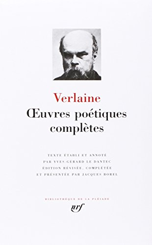 Oeuvres poetiques completes (Bibliothèque de la Pleiade) from GALLIMARD