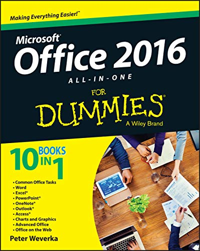 Office 2016 All-In-One For Dummies from John Wiley & Sons Inc