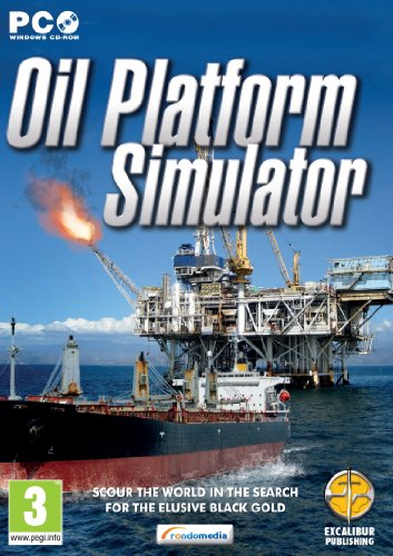 Oil Platform Simulator (PC CD) from Excalibur Games