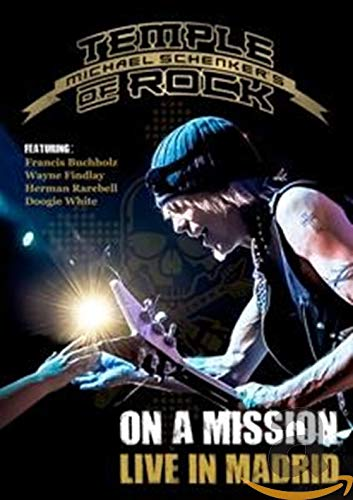 On A Mission - Live In Madrid [DVD] [2016] from Inakustik