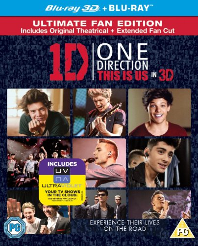 One Direction: This Is Us (Blu-ray 3D) [2013] [Region Free] from Sony Pictures Home Entertainment