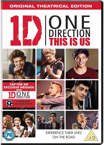 One Direction: This Is Us [DVD] [2013] from Sony Pictures Home Entertainment