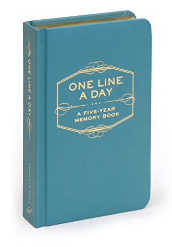 One Line a Day: A Five-Year Memory Book: (5 Year Journal, Daily Journal, Yearly Journal, Memory Journal) from Chronicle Books