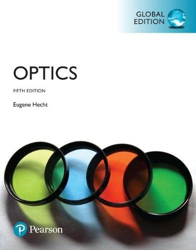 Optics, Global Edition (Pear06) from Pearson
