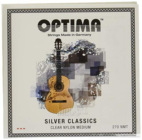 Optima 270 SILVER CLASSICS Set, Medium Tension from Optima
