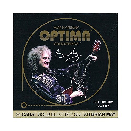 Optima Signature Brian May 009/042 Gold from Optima