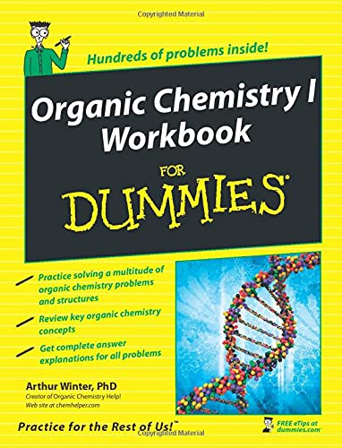 Organic Chemistry I Workbook For Dummies from For Dummies