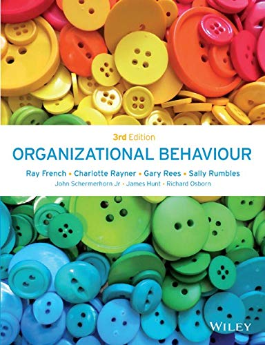 Organizational Behaviour from John Wiley & Sons