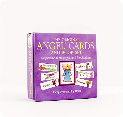 Original Angel Cards and Book Set: New Edition: Inspirational Messages and Meditations from Narada Productions Inc,US