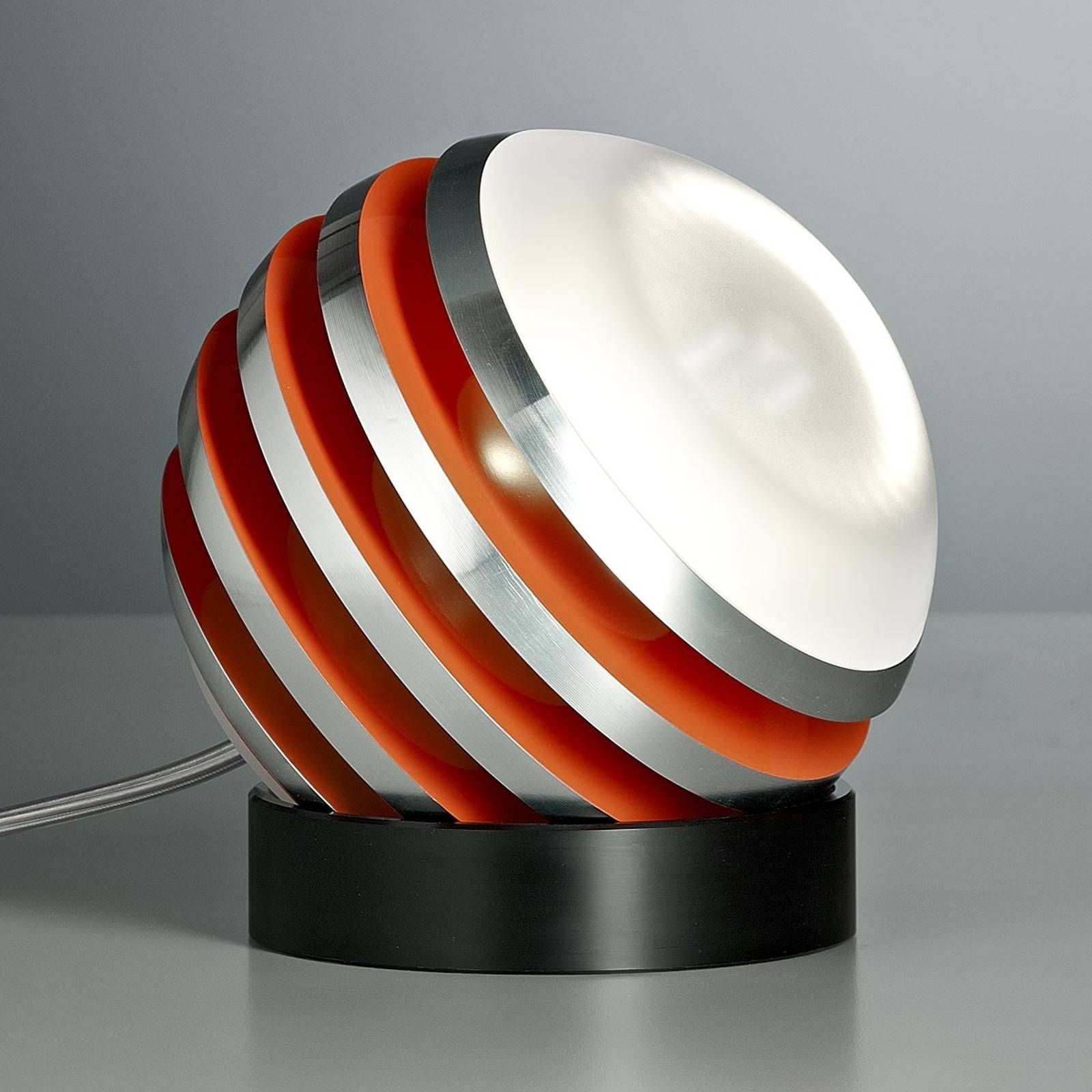 Original LED table lamp BULO, orange from Tecnolumen