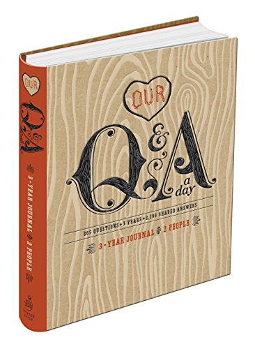 Our Q and A a Day: 3-Year Journal for 2 People from Clarkson Potter