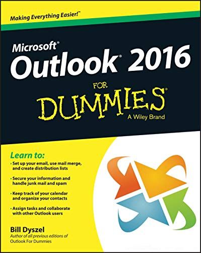 Outlook 2016 For Dummies from John Wiley & Sons Inc