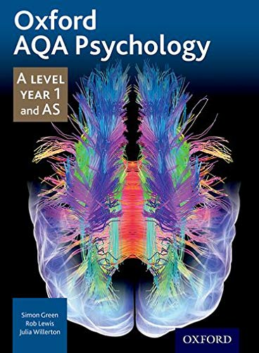 Oxford AQA Psychology: A Level: Year 1 and AS from Oxford University Press