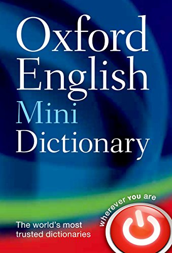 Oxford English Mini Dictionary from OUP Oxford