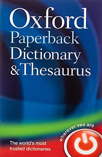 Oxford Paperback Dictionary & Thesaurus from OUP Oxford
