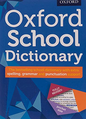 Oxford School Dictionary (Oxford Dictionary) from Oxford