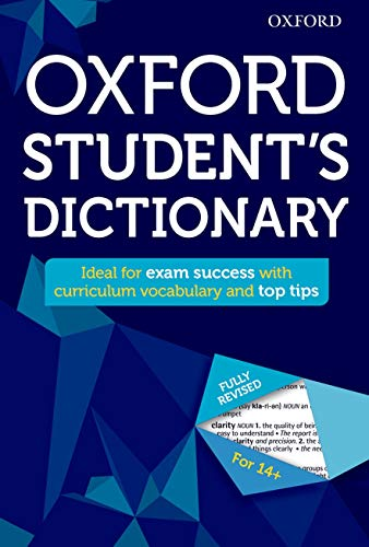 Oxford Student's Dictionary (Oxford Dictionary) from OUP Oxford