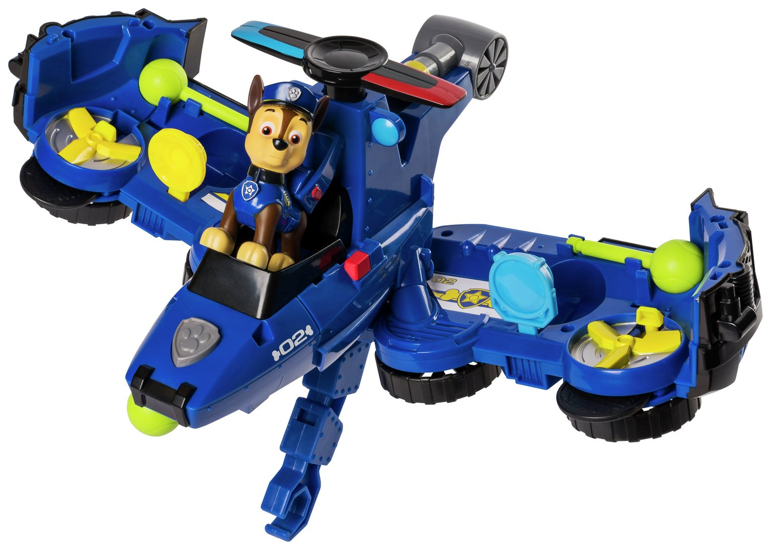 PAW Patrol Chase Flip & Fly Transforming Vehicle from PAW Patrol