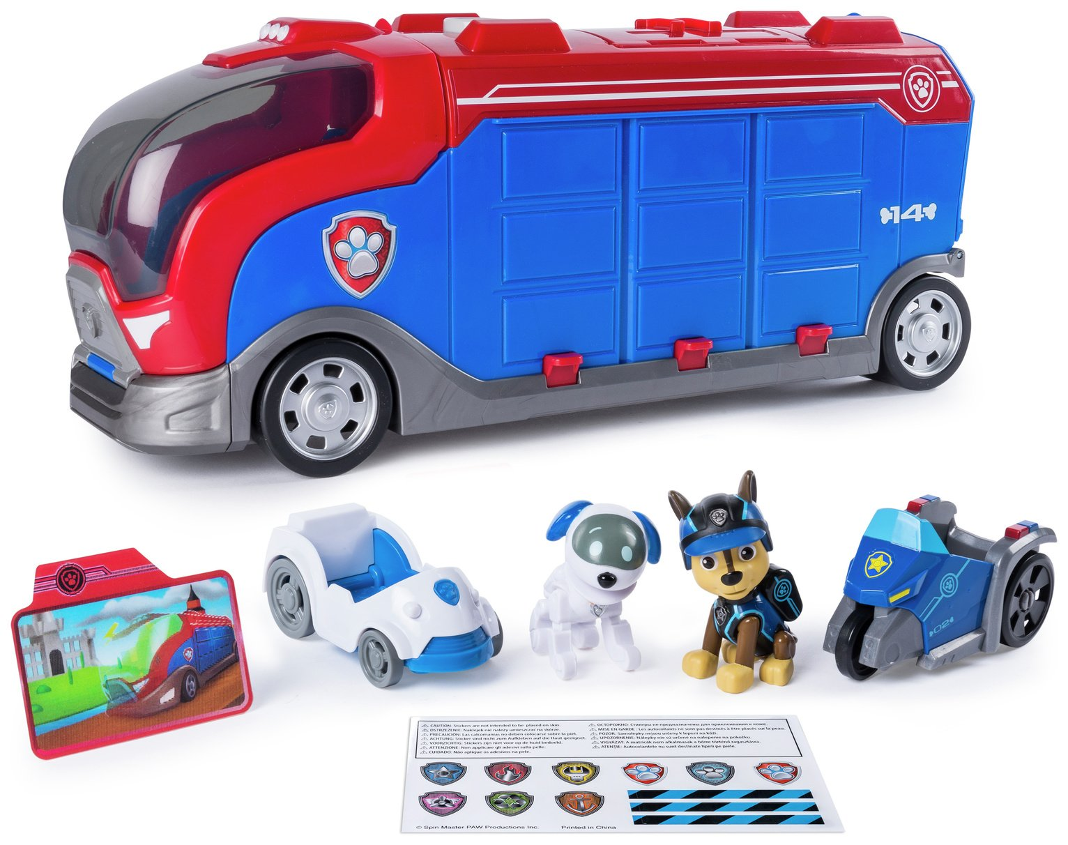 PAW Patrol Mission Cruiser with Robo Dog & Vehicle from PAW Patrol
