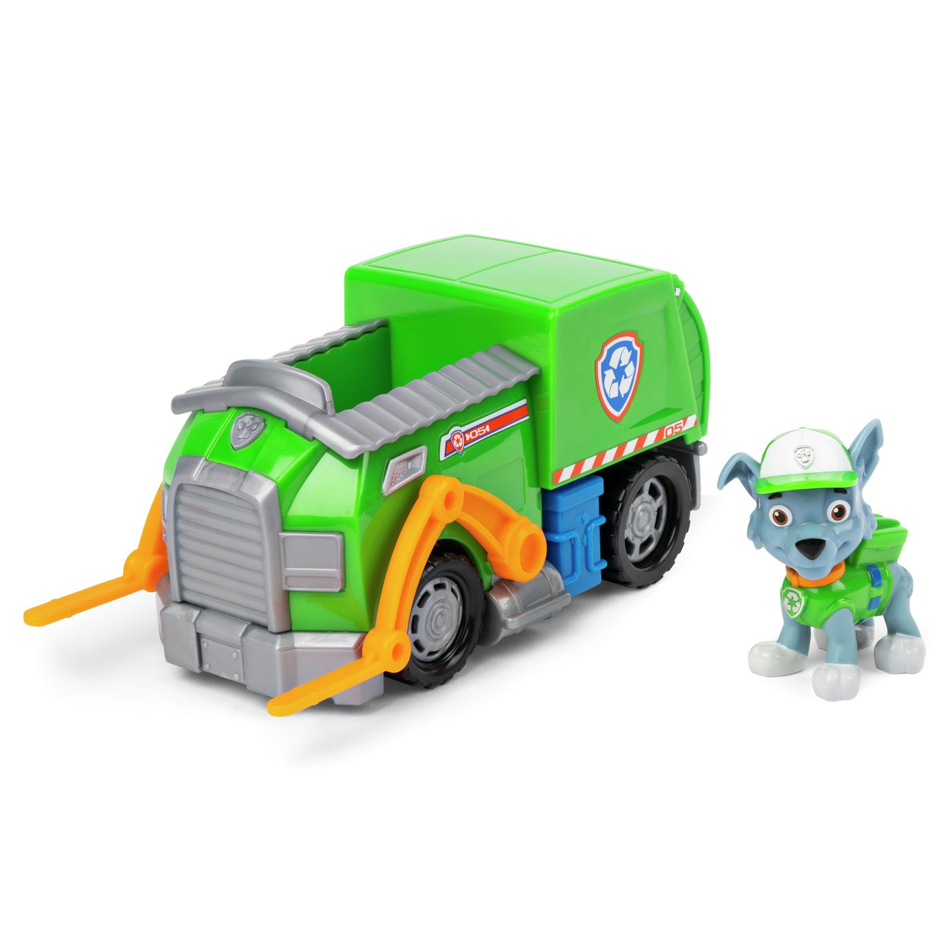 PAW Patrol Rocky and Rocky's Recycling Truck from Paw patrol