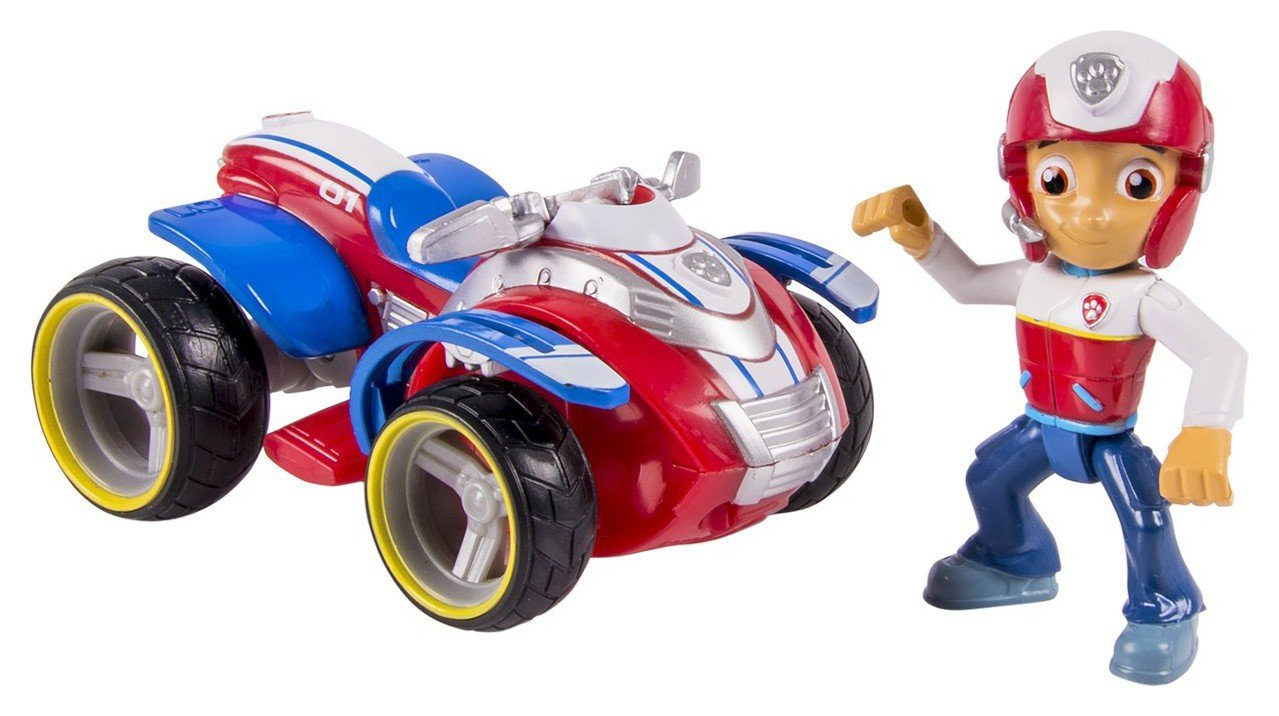 PAW Patrol Ryder's Rescue ATV Pup & Vehicle from PAW Patrol