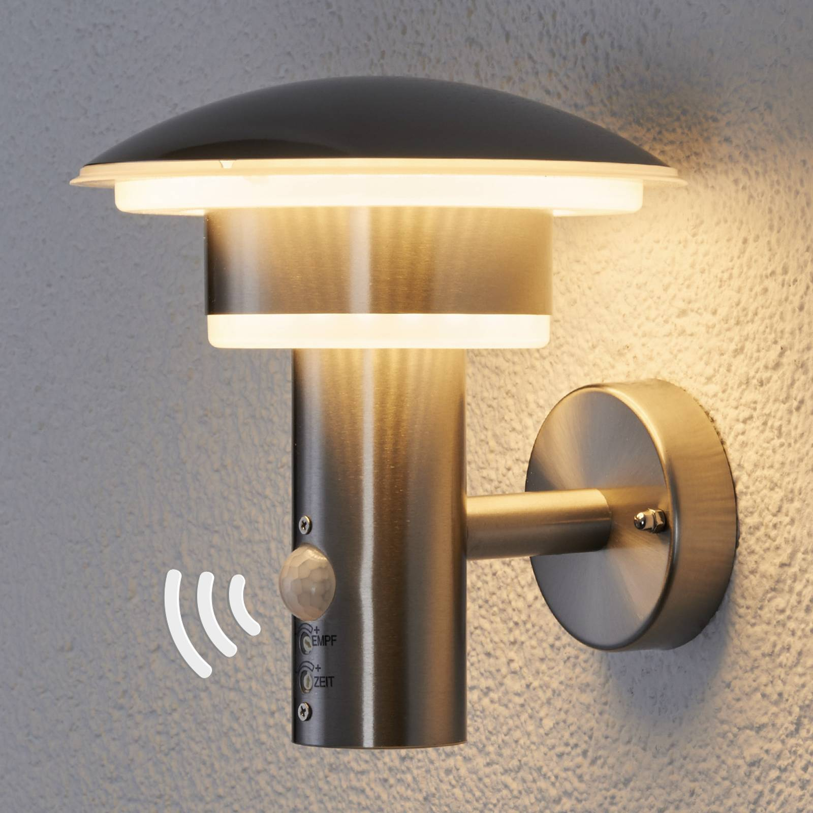 PIR outdoor wall light Lillie with LEDs from Lampenwelt.com
