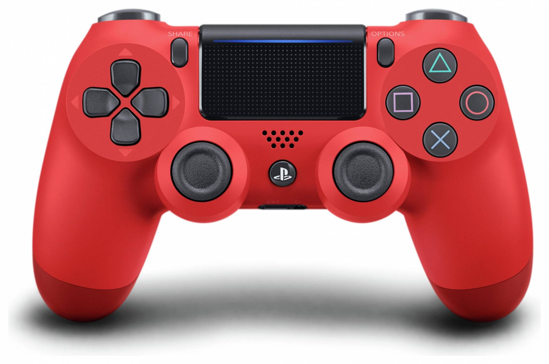 PS4 - DualShock 4 V2 Wireless Controller - Magma Red from Playstation