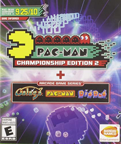 Pac-Man Championship Ed 2 + Arcade Game Series from Bandai
