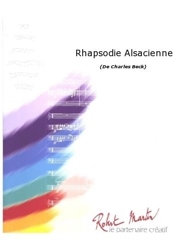Partitions classique ROBERT MARTIN BECK C. - RHAPSODIE ALSACIENNE Ensemble vents from ROBERT MARTIN