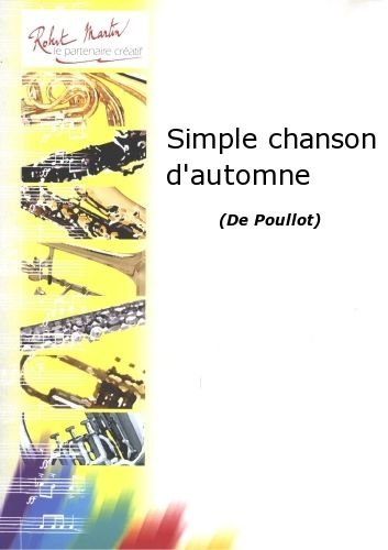 Partitions classique ROBERT MARTIN POULLOT - SIMPLE CHANSON D'AUTOMNE Tuba from ROBERT MARTIN