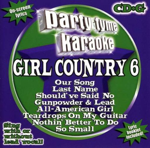 Party Tyme Karaoke: Girl Country 6