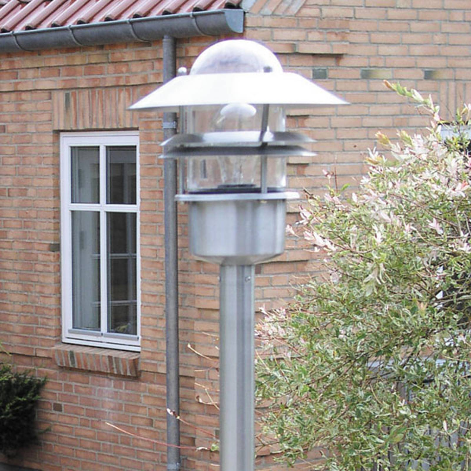 Pathway lamp Blokhus made of stainless steel from Nordlux