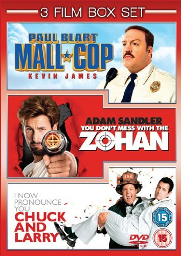 Paul Blart: Mall Cop / You Don't Mess with the Zohan / I Now Pronounce You Chuck and Larry [DVD] from UCA