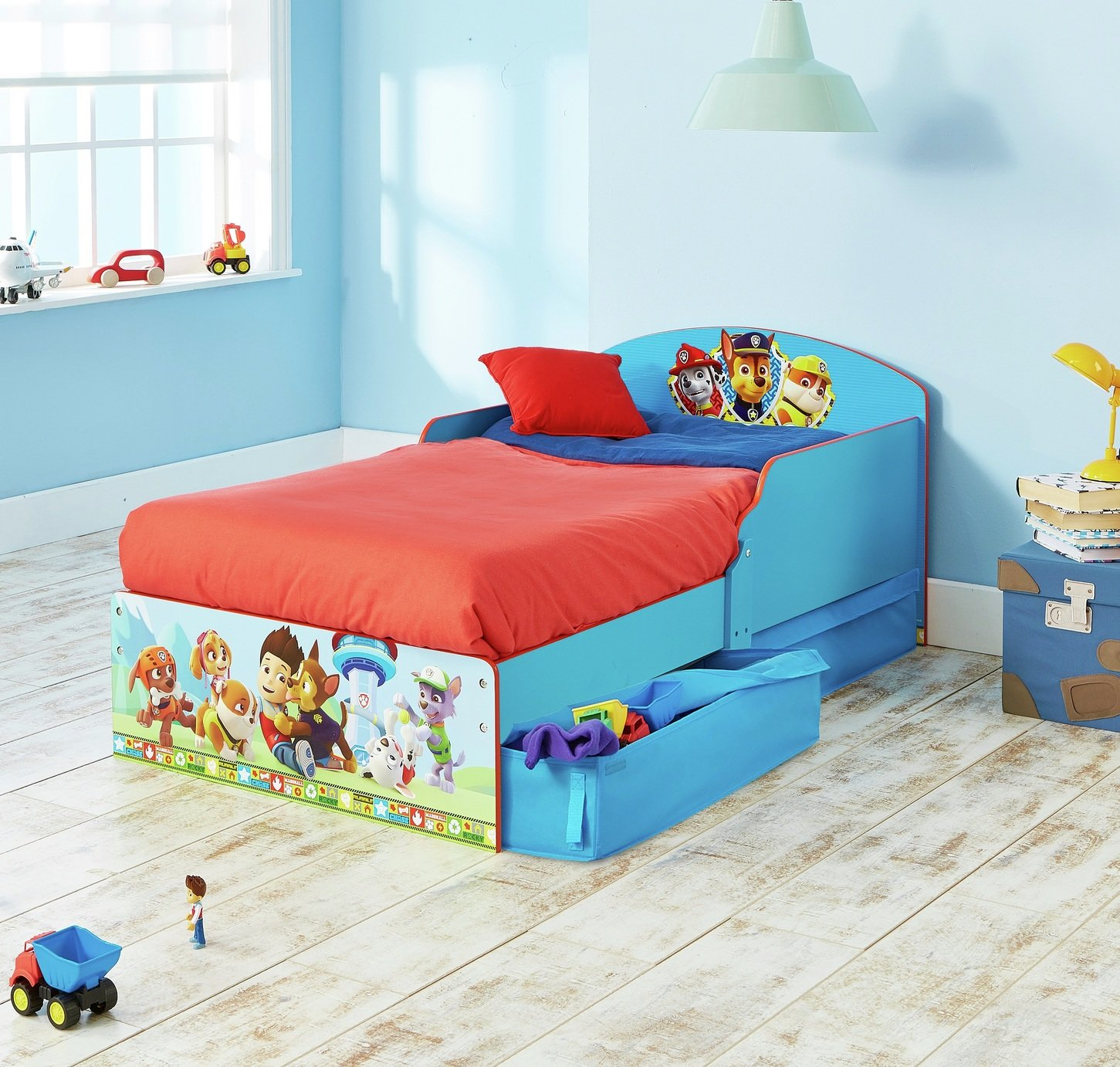 Paw Patrol Toddler Bed from Paw patrol