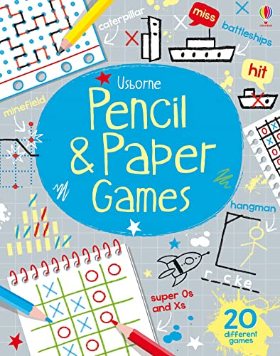 Pencil & Paper Games (Tear-Off Pads): 1 from Usborne Publishing Ltd