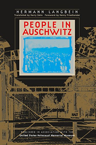 People in Auschwitz (Published in Association with the United States Holocaust Me) from University of North Carolina Press