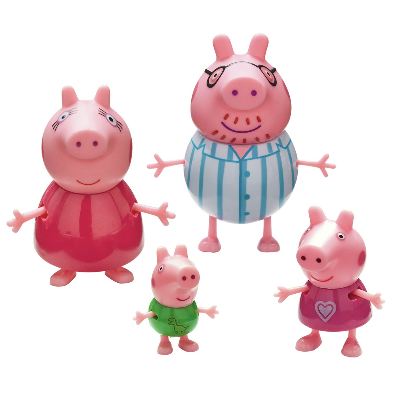 Peppa Pig Family Figures - 4 Pack from Peppa pig