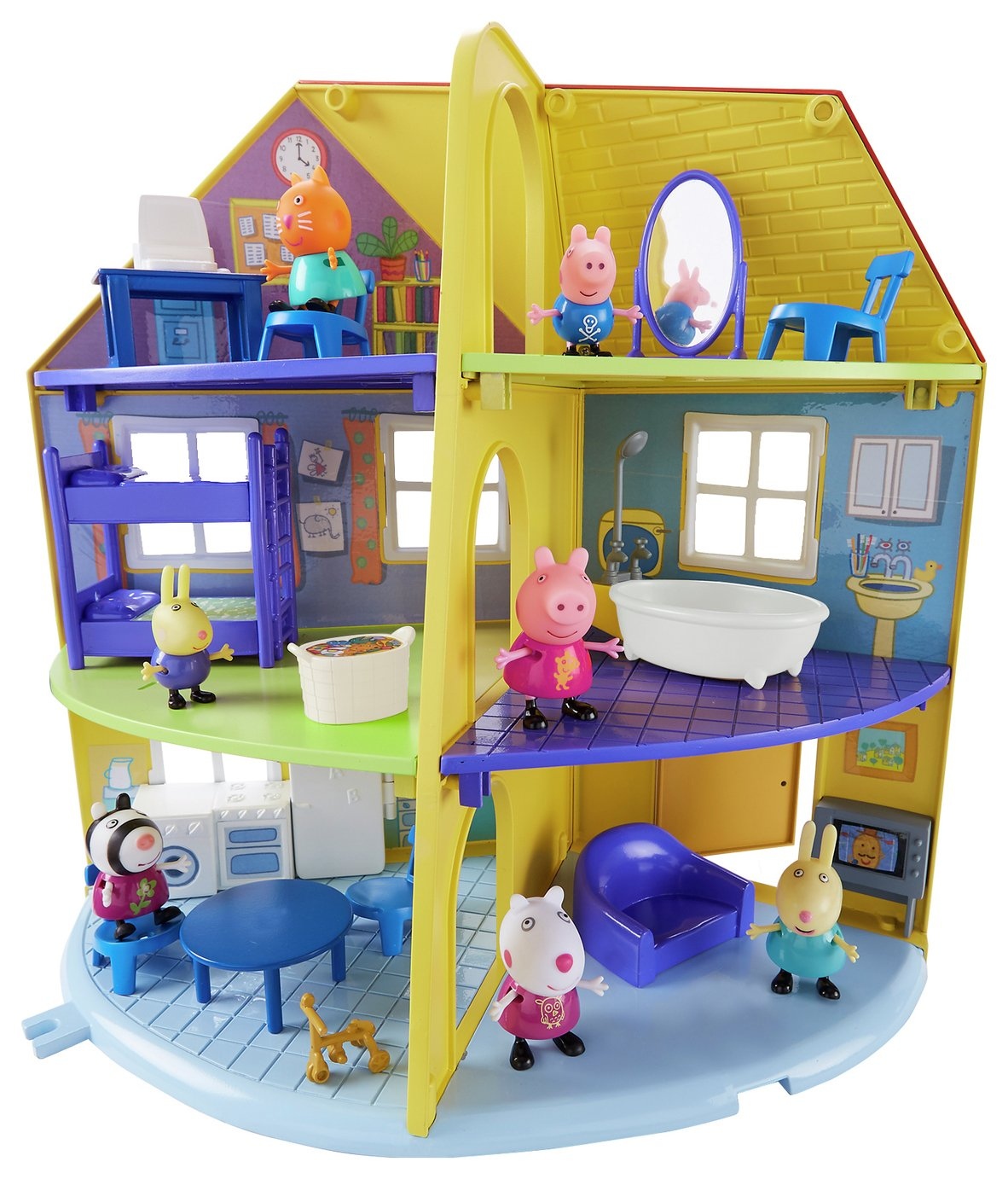 Peppa Pig Peppa's Family Home Playset from Peppa pig