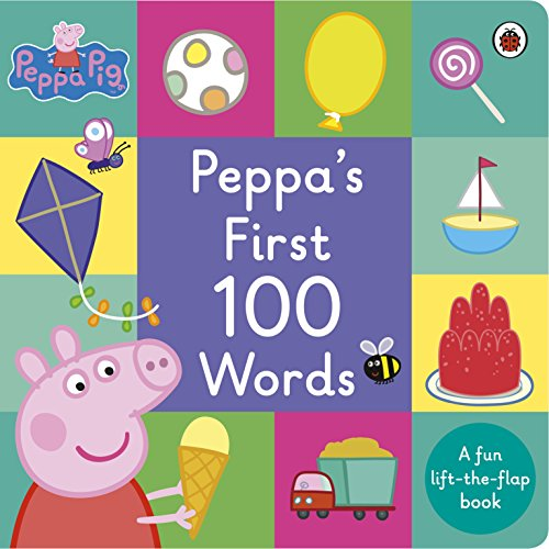 Peppa Pig: Peppa's First 100 Words from Ladybird