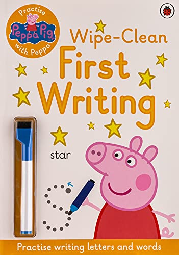 Peppa Pig: Practise with Peppa: Wipe-Clean First Writing from Ladybird