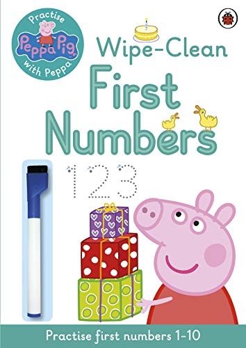 Peppa Pig: Practise with Peppa: Wipe-Clean First Numbers from Penguin Books Ltd