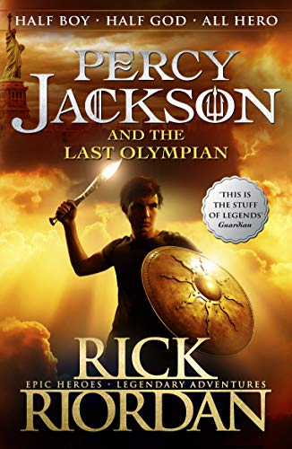 Percy Jackson and the Last Olympian (Book 5) from Puffin