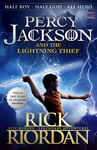 Percy Jackson and the Lightning Thief (Book 1) from Puffin