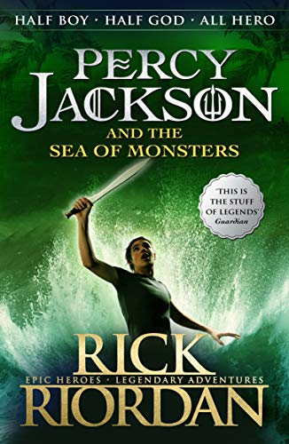 Percy Jackson and the Sea of Monsters (Book 2) from Puffin