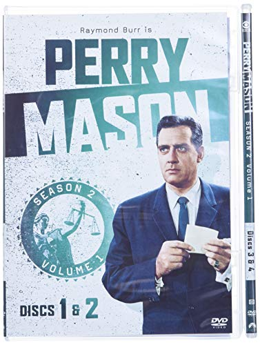 Perry Mason: Season 2 Vol. 1 [DVD] [1958] [Region 1] [US Import] [NTSC] [1961] from Paramount Home Video